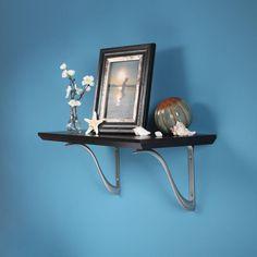 restorers iron shelf bracket black powder coat finish iron shelf shelf brackets and shelves