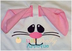 3D Easter Bunny Face Hooded Towel Machine Embroidery Applique Design Designs Buy 1, get 1 free! Use Coupon Code 50off