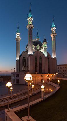 Qolşärif Mosque, Kazan, (Russia).
