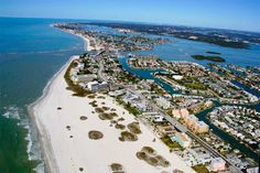 Treasure Island Florida, Paradise Island to the right, lived there, miss it!