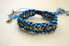 Friendship bracelet instructions- macramé bracelet patterns with beads – Pandahall