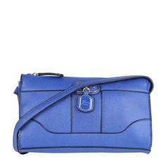 Bolsa Transversal Azul 17x25x6cm GUESS