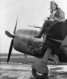 P-47 Thunderbolt's pilot