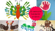 20 awesome handprint projects for kids!