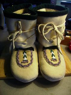 How to make Salish Side Seam Moccasins