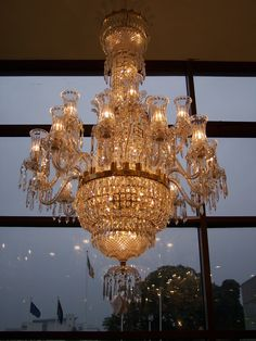 Waterford Crystal Chandelier...every home should have one!