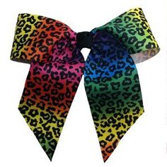 Large Bow Scrunch (Wildcat Cheetah) by Soffe. $5.99