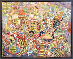 Ben Hotchkiss USA paintings Outsider Art, The Outsiders, Paintings, Illustrations, Artists, Times, Usa, Collection, Paint