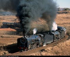RailPictures.Net Photo: SAR 3016 South African Railways Steam 4-8-2 at Bethlehem, South Africa by John West