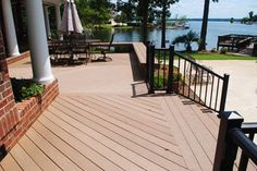 Outdoor Bliss On Lake Murray, In Lexington, SC. Outdoor Spaces, Outdoor Decor, New Homes, Backyard, Decks, Bliss, House, Decorating, Design