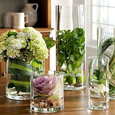 Image result for flowers in glass cylinders