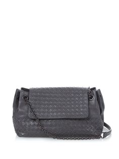 Bottega Veneta Madras leather shoulder bag