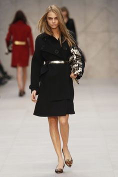 London Fashion Week: Burberry Prorsum Fall 2013 / Photo by Anthea Simms