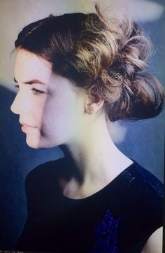 A textured Victorian Updo style from Oribe Couture Class