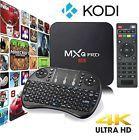 S905 Smart TV BOX Android 5.1 XBMC MXQ Pro Quad Core KODI 16 4K Player Keyboard