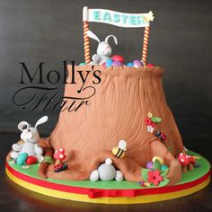 Easter Cake by Molly's Flair