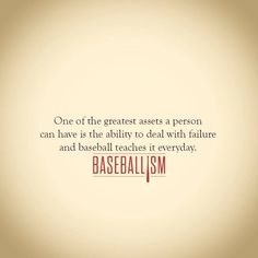 One of the most amazing things about baseball!