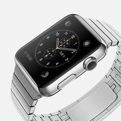 Apple - Apple Watch: 18 different designs/models to choose from...really like this stainless steel model.  good thing i don't like wearing watches-I'd be in trouble