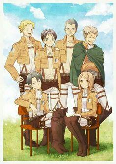 Special Operation Squad #anime #manga