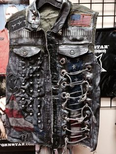 Wornstar custom vest