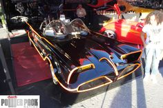 The original batmobile, created by George Barris