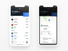 A challenger bank concept. The mobile bank where you finally can have multiple currencies and сryptocurrency accounts.   trillbank.com