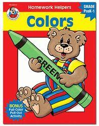 Homework Helpers: Colors, Grades PreK - 1  by Frank Schaffer