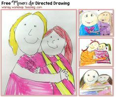 25 Classroom Tested Mother's Day Ideas. Directed DrawingFathers ...