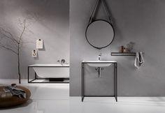 Steel in the bathroom with BetteLux Shape