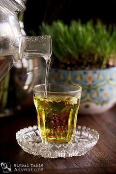 "Plan a ""Kuku"" picnic with tips & recipes from the Persian holiday Nowruz Ethopian Food, Saffron Tea, Red Energy, Saffron Recipes, Types Of Tea, Lebanese Recipes, Wine Design, Iranian Food, Flower Tea"