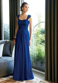 How do I feel about long dresses for bridesmaids?