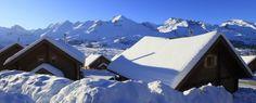 La Joue du Loup - Hautes-Alpes - France - Les magnifiques chalets qui font le charme de La Joue du Loup, Hautes-Alpes