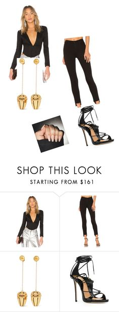 """""""Untitled #5074"""" by itsore ❤ liked on Polyvore featuring LPA, Black Orchid, E L L E R Y and Dsquared2"""