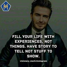 Fill your life with experiences  They teach you how to deal with any situation.   Feel free to comment tag and Repost    Tag us @visionary_mark after reposting and sharing your thoughts.                  Feel free to DM for shoutouts                   We are your Daily motivational source. Turn Post notifications on                  Follow us @visionary_mark  We got posts to give you the meaning of life.