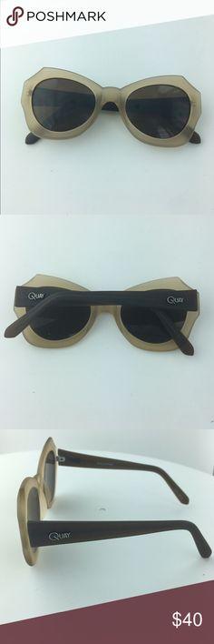 """Quay Australia """"Mia"""" Sunglasses Never Worn Quay Australia """"Mia"""" Glasses with Matte Finish. Quay Australia Accessories Sunglasses"""
