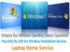 Do you need window installation service at your home or offices in your local areas? If yes then enquire us and get quick and affordable service by Microsoft technicians, we installed all window like 7, 8, 9, 10 and XP.