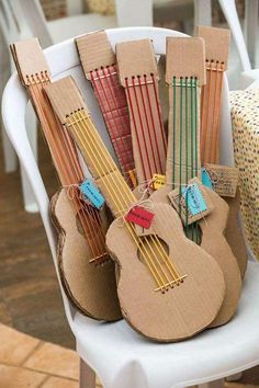 diy knutselen handicrafts with cardboard: over 15 funny ideas . - diy knutselen Crafts with cardboard: over 15 fun ideas from cardboard – - Projects For Kids, Diy For Kids, Crafts For Kids, Instrument Craft, Musical Instruments, Music Crafts, Fun Crafts, Toddler Crafts, Toddler Activities
