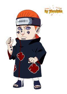 Render Chibi Pein Gakido by on DeviantArt Anime Naruto, Kid Naruto, Anime Akatsuki, Naruto Cute, Anime Chibi, Naruto Shippuden, Nagato Uzumaki, Itachi Uchiha, Boruto