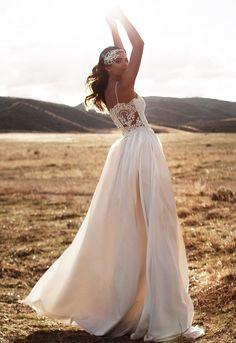 boho wedding dresses best photos - wedding dresses  - cuteweddingideas.com