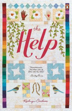 Our new craft-inspired cover for THE HELP, part of our Penguin By Hand series.