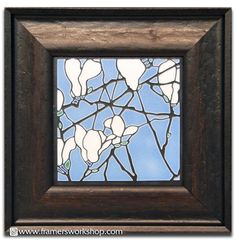 Motawi tiles at the framers workshop berkeley ca do it yourself framed blue magnolia motawi tile framers workshop berkeley solutioingenieria Choice Image