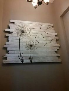 Quirky Pallet Art Helped Sell A Home! Quirky Pallet Art Helped Sell A Home! How I created a piece of pallet art at the time of selling a property, which attracted a buyer and helped me sell the property quickly.