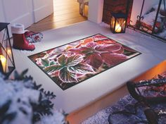 #wash+dry #Fußmattem #Herbstkollektion Door Mats, Seasons, Rugs, Home Decor, Cool Stuff, Textiles, Homes, Farmhouse Rugs, Decoration Home
