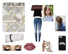 """""""30 Day OC Challenge Day 19 Dani"""" by roleplayqueen-325 ❤ liked on Polyvore featuring WithChic and Lime Crime"""