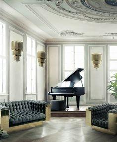 herbst 2017: luxuriöse wohnzimmer für den herbst | wohnzimmer ... - Luxus Wohnzimmer Ideen