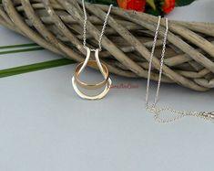Silver Ring Holder Necklace Wedding Wife Nurse Doctor Engagement