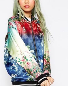 Zara embroidered military jacket