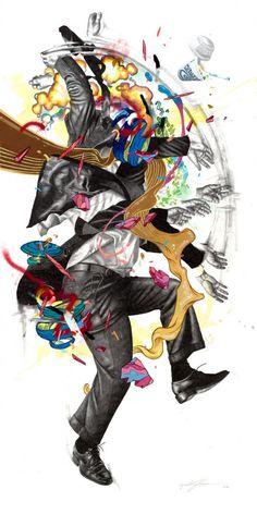 Zach Johnsen - Una Explosión de Color