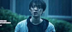 Luhan bloody in another movie... I think this is going to become a theme for him-.-