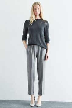 BELTED HIGH WAISTED TROUSER